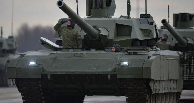 ارماتا جدید ترین تانک روسی