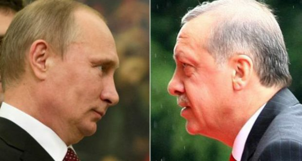 روسای جمهوری روسیه و ترکیه