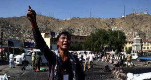انفجار در تظاهرات ' جنبش روشنایی ' در کابل