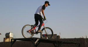 دوچرخه سواری فری استایل در کابل