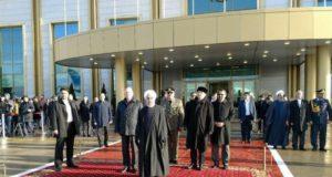 روحانی وارد مسکو شد