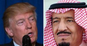 ملک سلمان و ترامپ بر ضرورت واکنش به حمله شیمیایی
