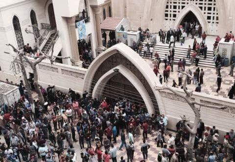 دو انفجار در دو کلیسا در مصر