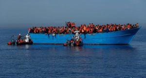پناهجویان در آبهای مدیترانه