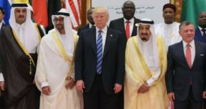 دونالد ترامپ به عربستان سعودی