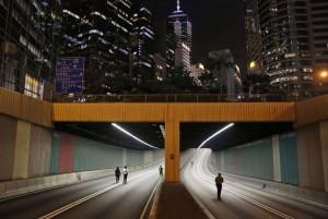 تونل زیرزمینی در هنگ کنگ