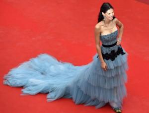 مدل بیانکا بالتی از ایتالیا در جشنواره سینمایی کان