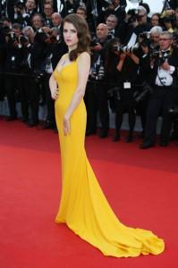 هنرپیشه آنا کندریک در مراسم افتتاحیه جشنواره سینمایی کان.
