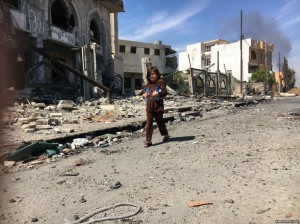 وضعیت زندگی در غرب شهر موصل